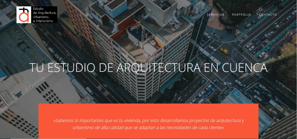 Diseño Web de arquitectocuenca